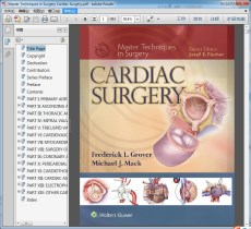 Master Techniques in Surgery Cardiac Surgery