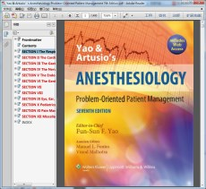 Yao & Artusio's Anesthesiology Problem-Oriented Patient Management 7th Edition