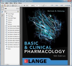 Basic and Clinical Pharmacology 14th Edition