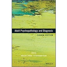 Adult Psychopathology and Diagnosis 8th Edition(成人精神病理学与诊断 第8版)